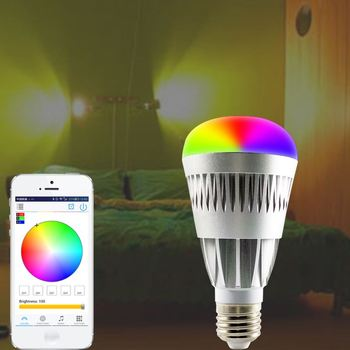 New Products In America WiFi Bluetooth Lava Lamp Light Bulbs