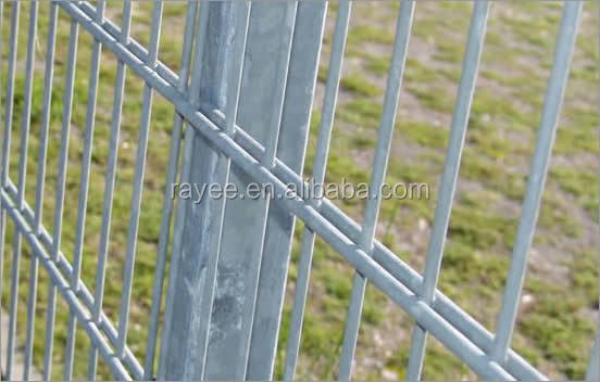 Verschweissten Doppel Zaun Draht Mit Doppel Kreisen Fur Garten