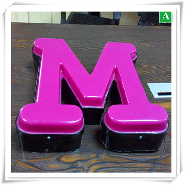 Acrylic Vacuum Forming Thick Plastic Led Letter Light Box