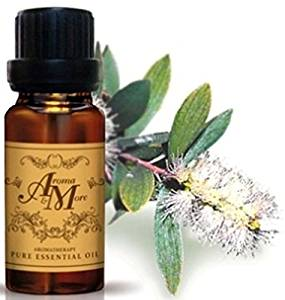 Tea Tree Essential Oil 100% (Australia) (Melaleuca alternifolia) (Woody Scent) 10 ml (1/3 Fl Oz)-Beauty