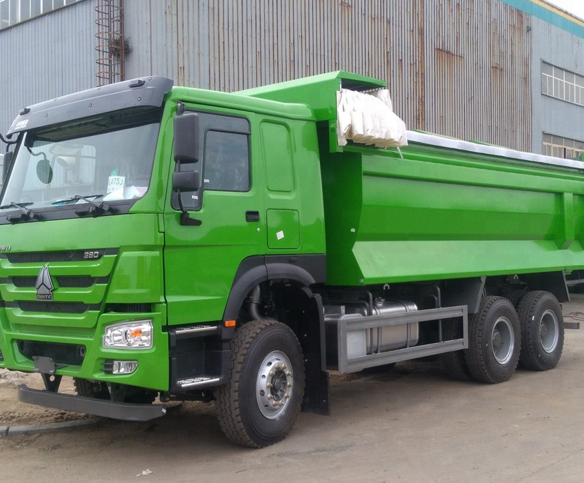 Sinotruk Howo 6x4 Heavy Duty 10 Tires 30 Ton Mining Dump Truck For Sale