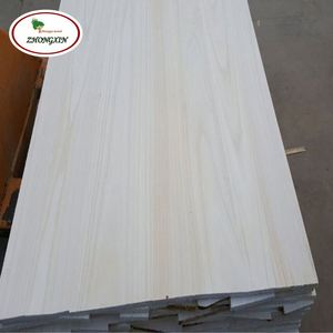 Paulownia Solid Wood Board Wall Panel Weather Boards