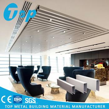 Aluminum 3d Suspended False Ceiling Designs For Lobby Buy Best