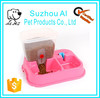 Plastic Automatic Pet Feeder Food Dispenser for Dogs Cats