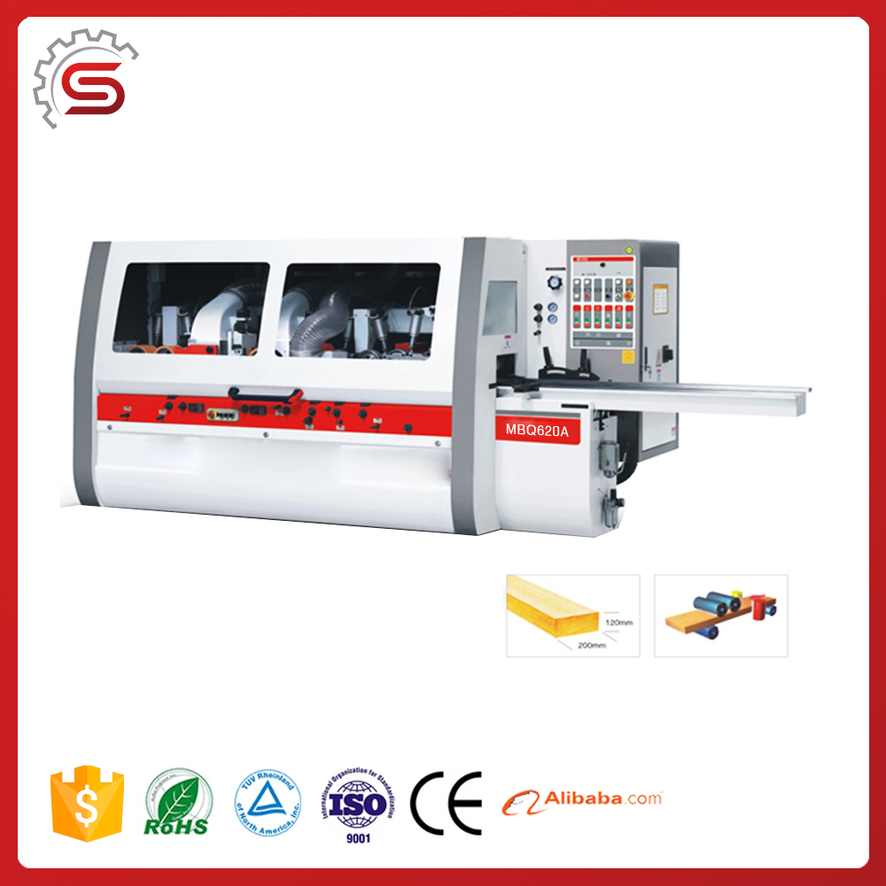 MBQ620A High Speed Four side moulder wood four side planer
