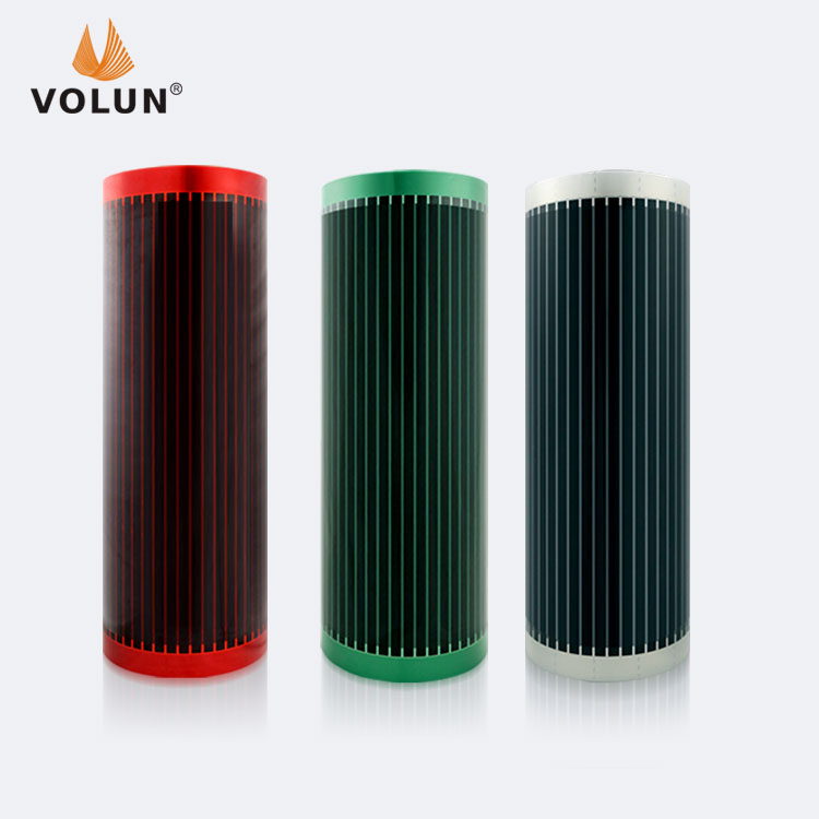CNT heating film , nano carbon heating film , infrared heating film used underfloor heating for house and snow melting areas