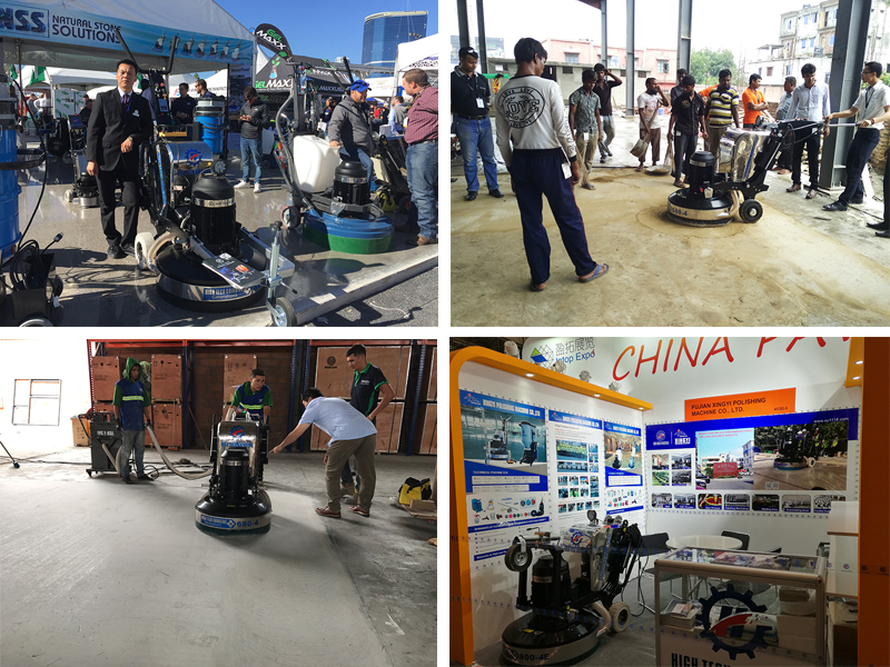 gasoline concrete floor grinding machine