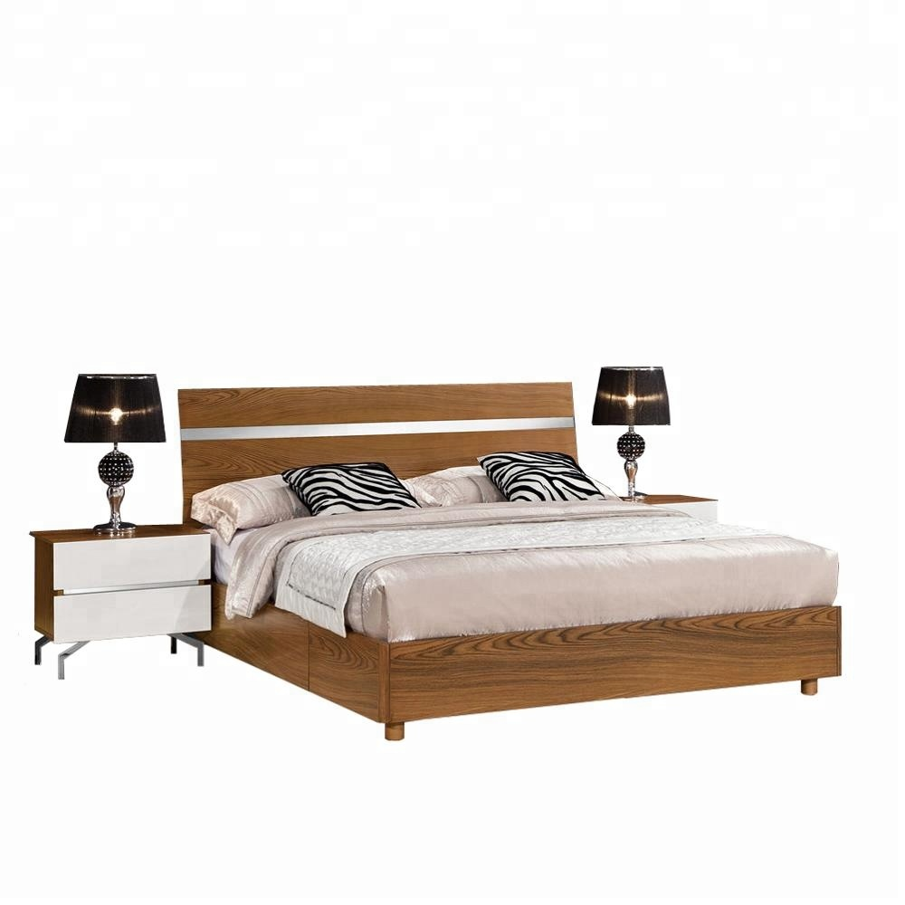 Made In China High End Platform Bed With Extra Storage Wood Beds Product On Alibaba
