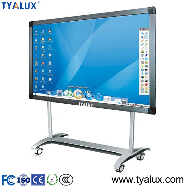 "98"" smart interactive touch screen smart board whiteboard price"