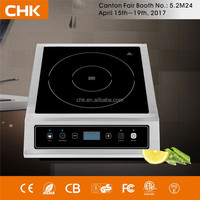 Stainless steel commercial induction cooker 3500w induction cooktop