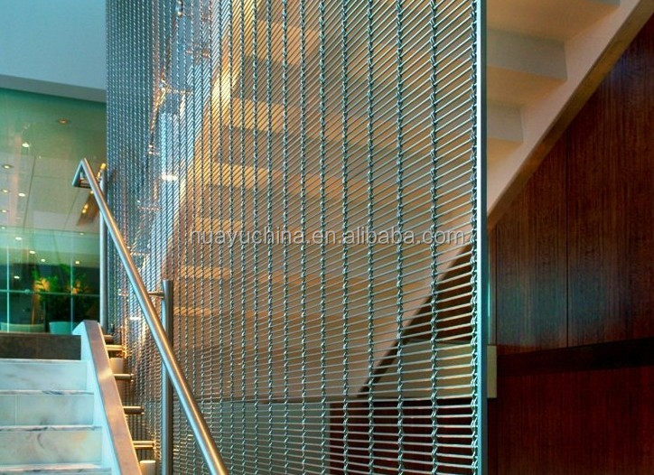Decorative Architectural Mesh By Stainless Steel As Interior Wire ...