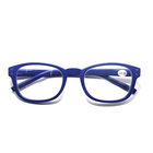 unbreakable Simple design cheap colorful reading glasses zoom