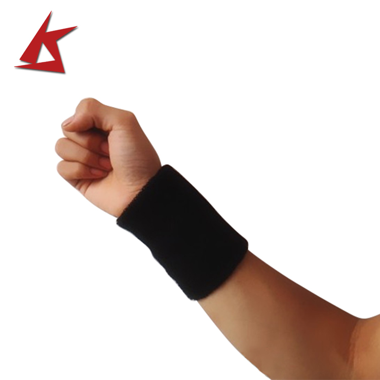 KS-618#Unisex sports tennis cotton wrist band custom sweat bands