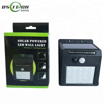 Outdoor Waterproof Led Solar Power Motion Sensor Garden Yard Lamp Wall Light Buy Outdoor Waterproof Led Solar Power Light Solar Power Motion Sensor