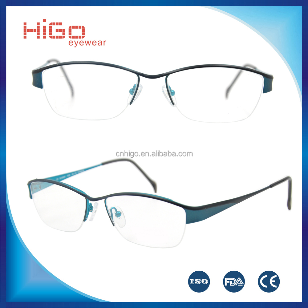 latest model spectacle frame Classic Best Sales Stainless Steel frames Metal eye glasses With High Quality