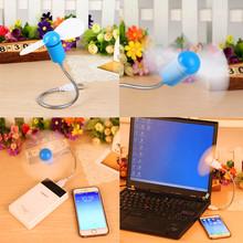 Cute Millet portable Mini Fan Flexible USB Cooling Fan For Power Bank Notebook Laptop Computer Power-saving USB Fan Cooler