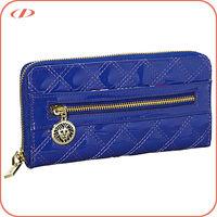 Ladies small zip around PVC wallet