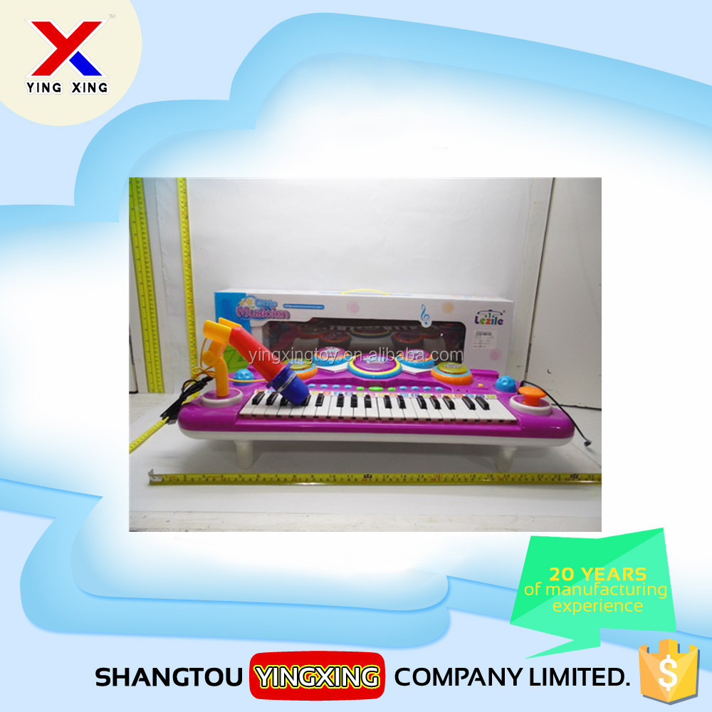 Children toy 37keys music keyboard piano electronic organ