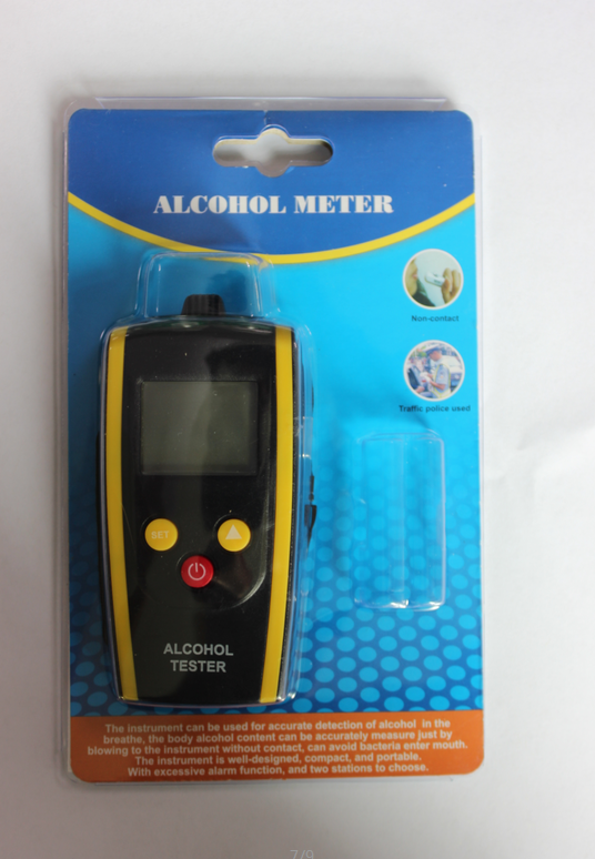 High quality quick response HT-611alcohol breath tester at factory price