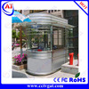 Glass Windows and durable material ticket sentry house at the entrance or exit
