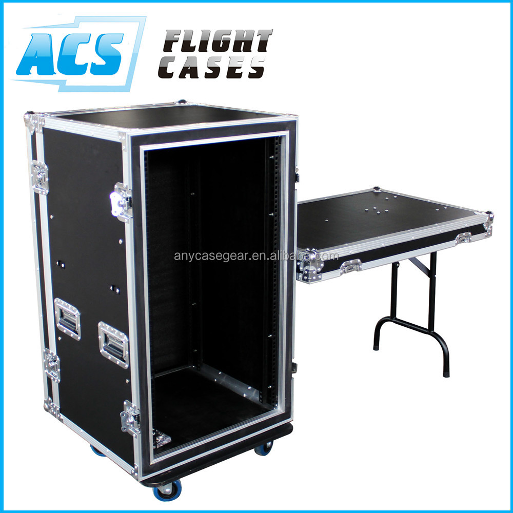 ACS anti-shock moving head flight case 19inch rack case