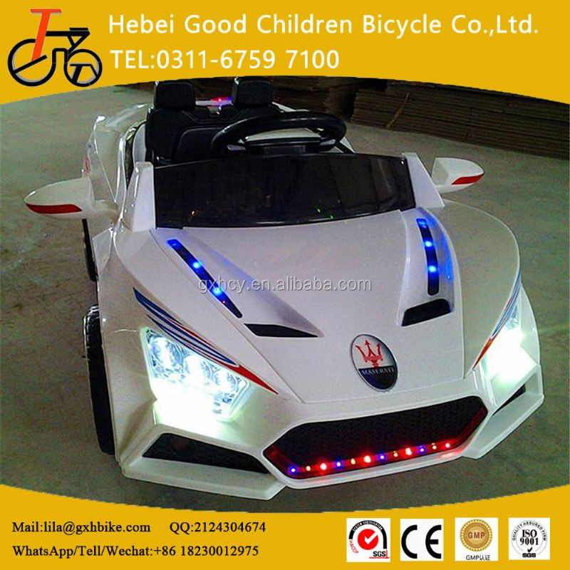 Best selling remote control car children electric ride on car