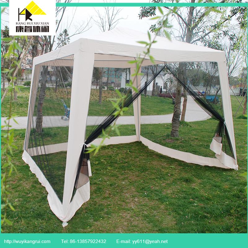 3*3 m Struttura In Ferro Giardino Pavilion Gazebo Con zanzariera ...