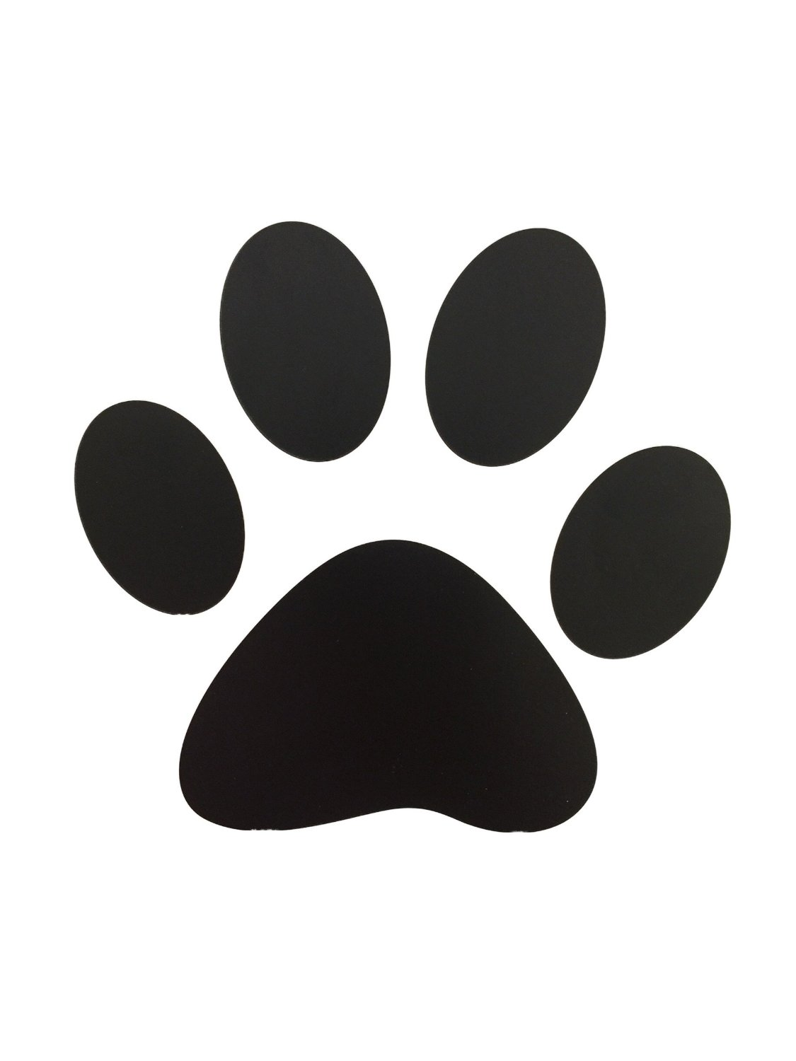 GIFTEXPRESS Paw Print Floor Clings Floor Decal 12 pk