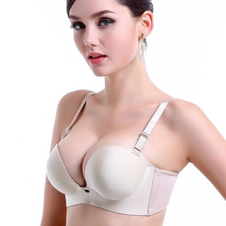 2a88513ee4e03 Buy 2015 New Deep U Plunge Bra Invisible Racerback Push Up Bra For Formal  Dress For Wedding Evening.Free Shipping in Cheap Price on Alibaba.com