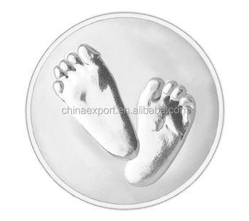 Baby feet necklace pendant coin holder fo 018 buy silver necklace baby feet necklace pendant coin holder fo 018 aloadofball Image collections
