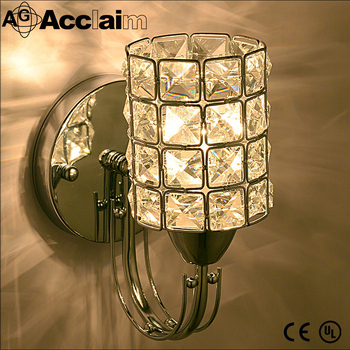 Modern Home Decor Crystal Glass Wall Sconce With Power Outlet Wall Lamp - Buy Modern Wall Sconce ...