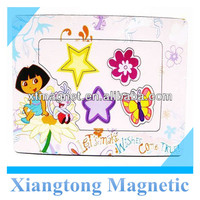 Lovely Cartoon Girls Magnetic Photo Frames for Kids