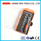 38pcs ratchet screwdriver bits socket tool set 100-38A