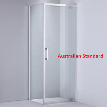30mm Adjustment 900mm X900mm Pivot Shower Enclosure With Side Panel S5001 900x900mm