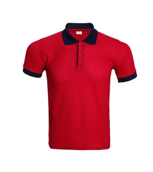Non branded products clothing factory contrast color polo for Custom polo shirt manufacturers