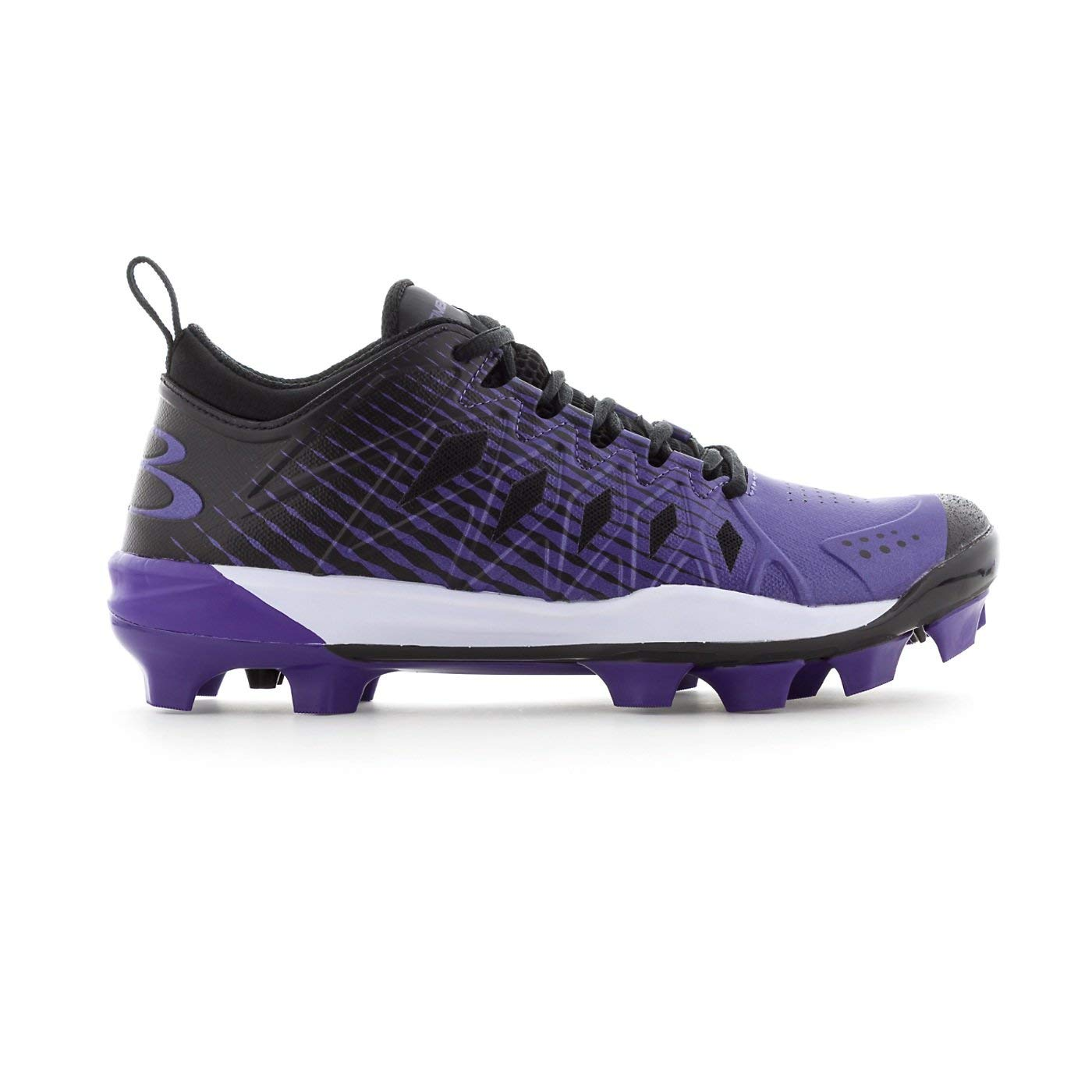 0954619f0108 Get Quotations · Boombah Women's Squadron Molded Cleats - 12 Color Options  - Multiple Sizes