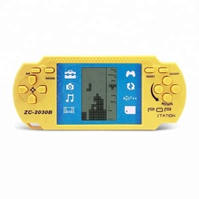 Children Classical Player Retro Portable Tetris Handheld Video Game Console Built-in 23 Games Tetris Kids Gaming Controller