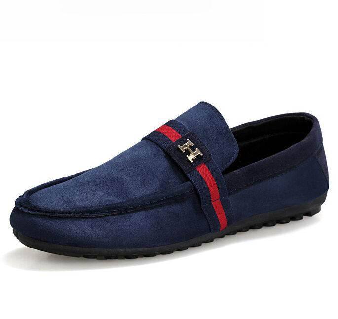 2015 Hot Men's loafers Fashion Casual breathable driving falts Shoes Mens slip-on Flats Doug Loafers moccasin gommino