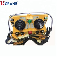 AC/DC 12/18/24/36/110v F24-60 wireless radio remote control Double Industrial joystick control for crane