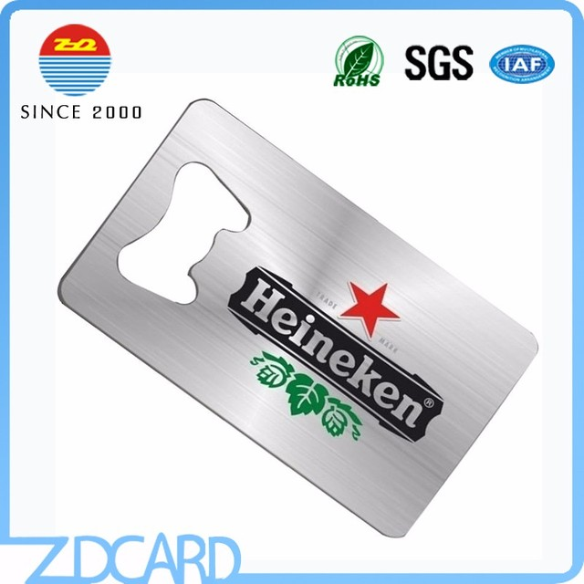 Buy cheap china cutout bottle opener products find china cutout stainless steel brushed metal bottle opener business cards colourmoves