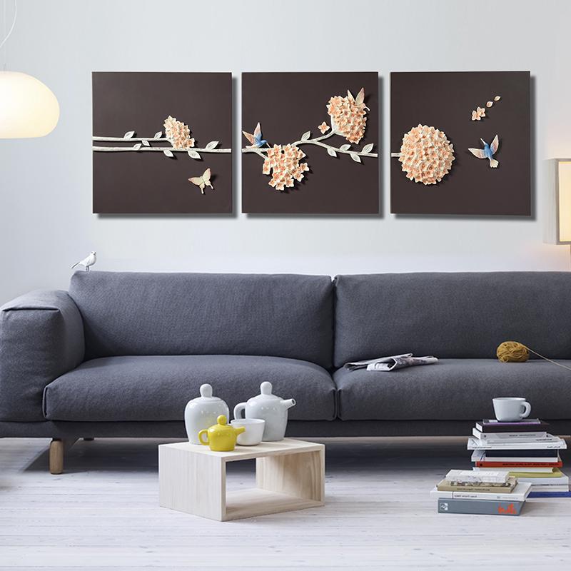 Pintura 3d papeles de la pared decoraci n para el hogar for Decoraciones para la pared de la sala