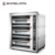 Luxury Commercial 3 Layer 6 Deck Bakery Electric Deck Oven For Bread China Factory Direct K708