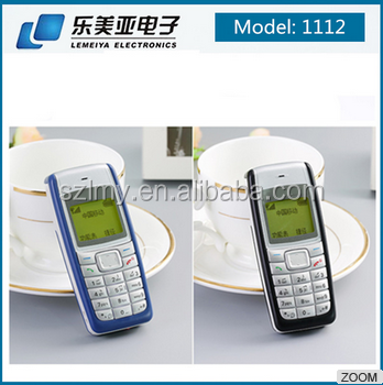 Hot sale in unlocked for cell phone dual sim whatsapp facebook GSM mobile phone for nokia 1112 105 3310 1280 1650