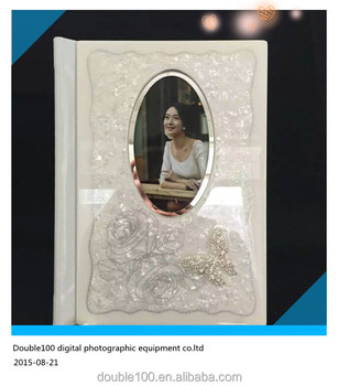 Mdf Crystal Wedding Al Cover Design With Case China Price