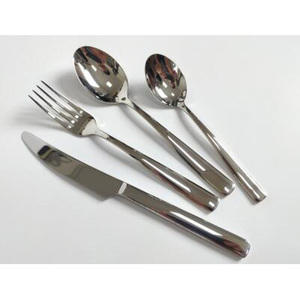 304 Material Mirror Polish Hotel Restaurant Use Knife Fork Spoon Tableware Flatware Stainless Steel Cutlery Set