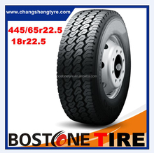 High performance China BOSTONE cst tbr truck tires radial truck tyre 445/65r22.5 18r22.5