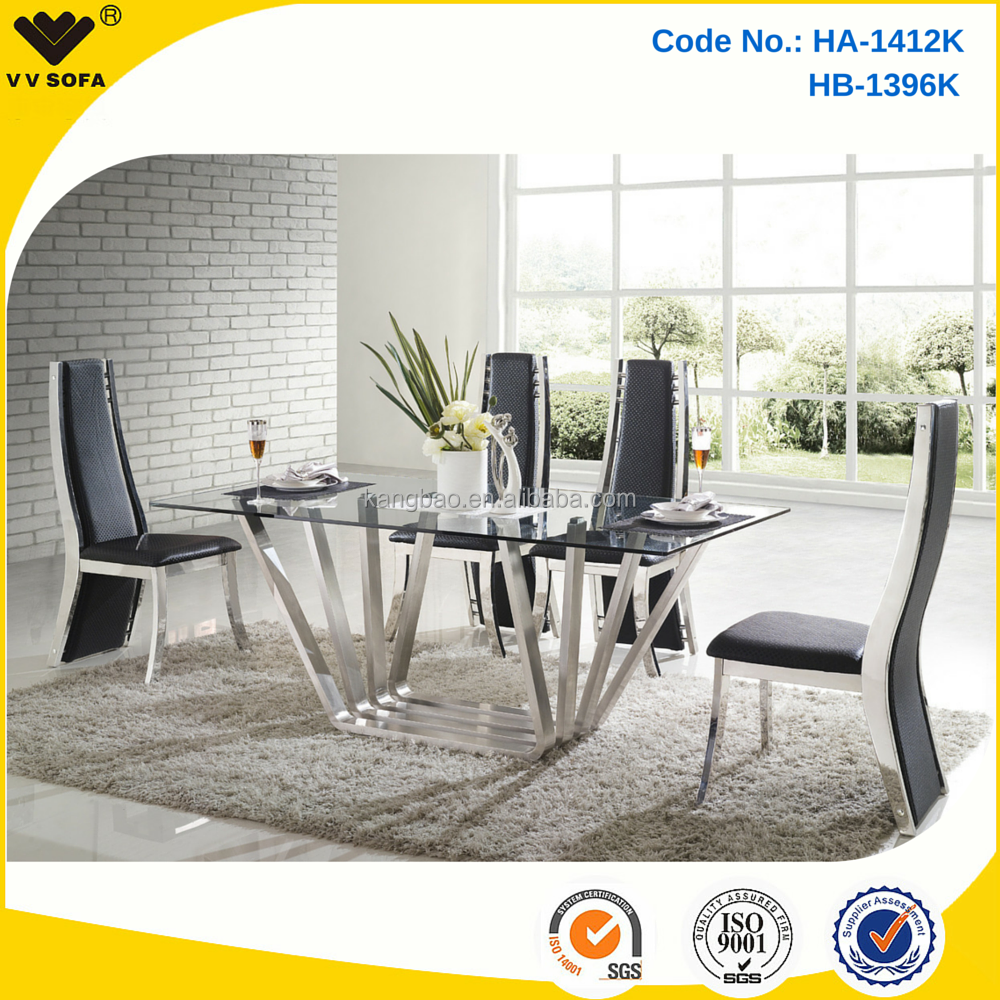 Foshan Kangbao Modern Dining Room Furniture,8 Seater Dining Table Sets  Stainless Steel - Buy 8 Seater Dining Table Sets,Modern Dining Room ...
