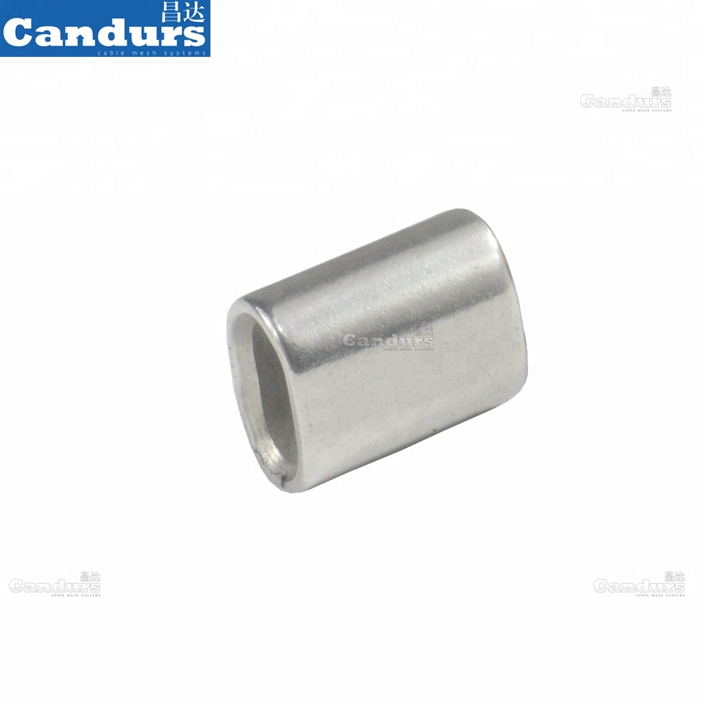 1.0mm-18mm Stainless Steel Wire Rope Crimp Ferrule