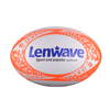 Lenwave brand mini rugby ball custom printed leather rugby ball