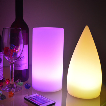led light for home decoration battery operated rechargeable cordless restaurant led table lamp lighting led night light